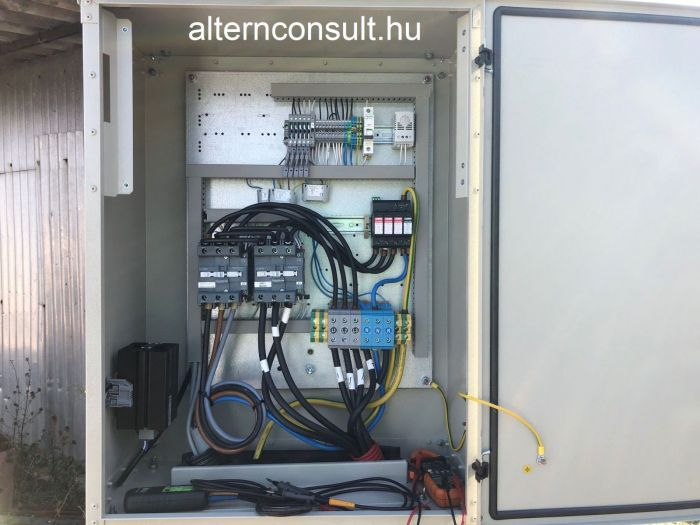 Automatic Transfer Switch (ATS) outdoor weather proof