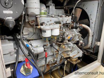 Használt FOGO készenléti aggregátor IVECO Diesel 80kVA motor