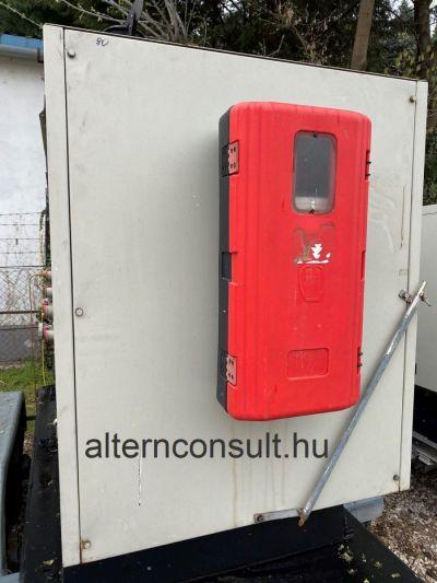 Használt FOGO készenléti aggregátor IVECO Diesel 80kVA