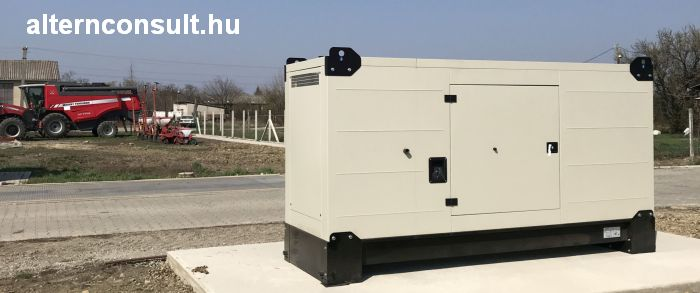 Fogo Diesel Stand-by power generator outside weather proof