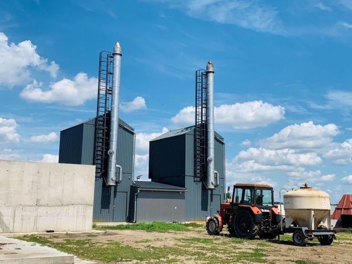 biomassza szalmabálás kazán
